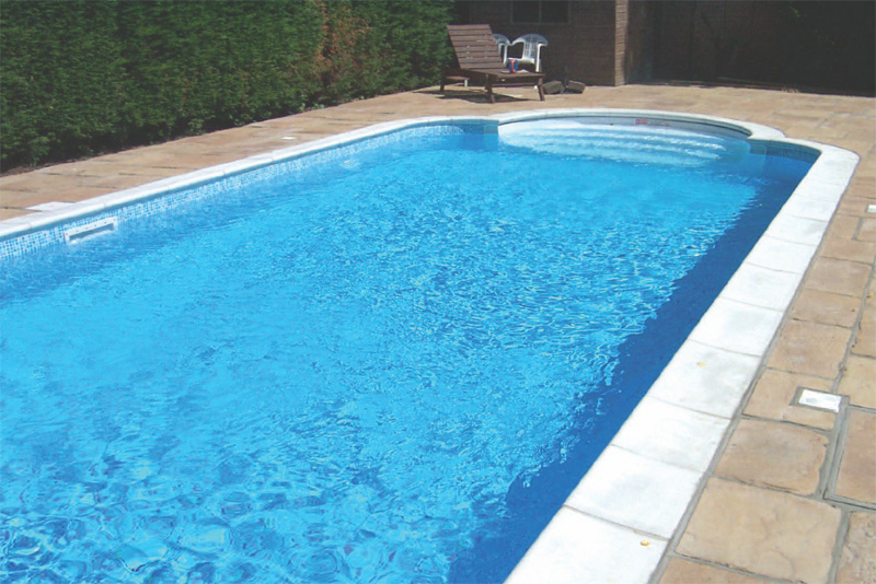 Swimming Pool Coping : Inch bullnose swimming pool coping stone kits